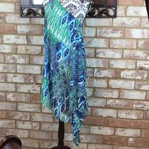 Beautiful One Shoulder Top/Cover up